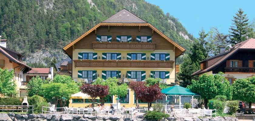 Landhotel Schützenhof, Fuschl, Salzkammergut, Austria - Exterior in summer.jpg